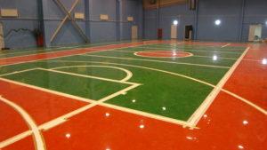 спортивный пол