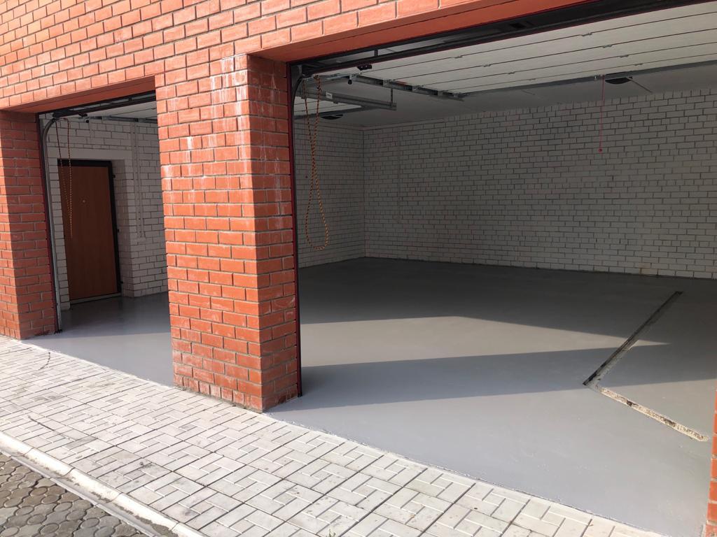 полы в гараж
