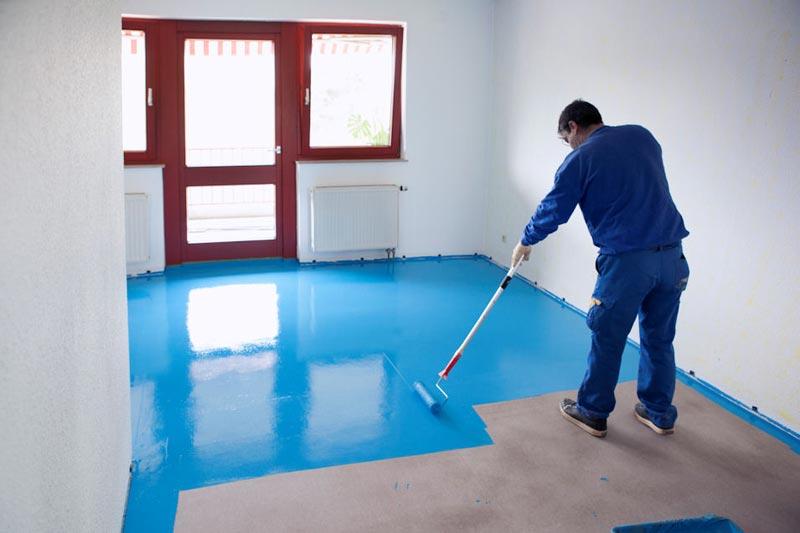 Краски и грунты для бетона